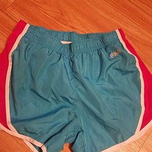 FILA Sports Women's Shorts, Size Medium